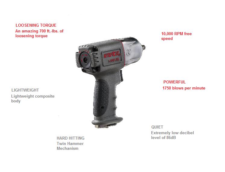 NitroCat 1355-XL Specs