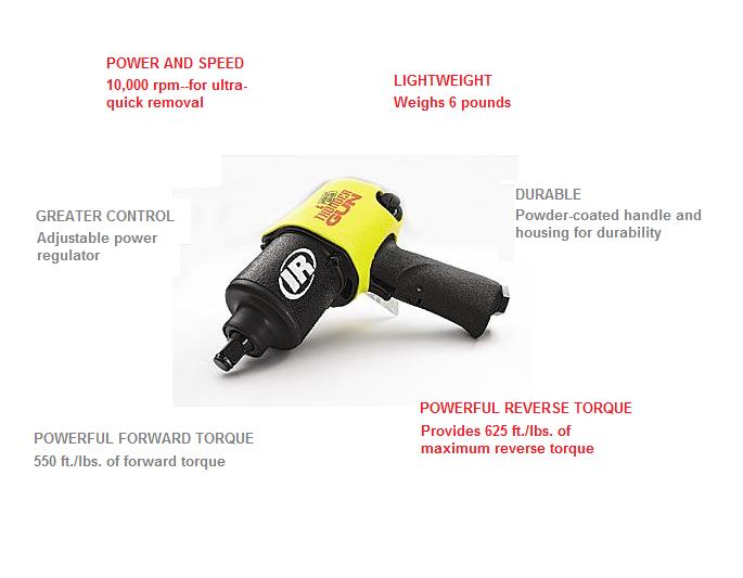 "Ingersoll-Rand 232TGSL 1//2/"" ThunderGun Impact Wrench IR"